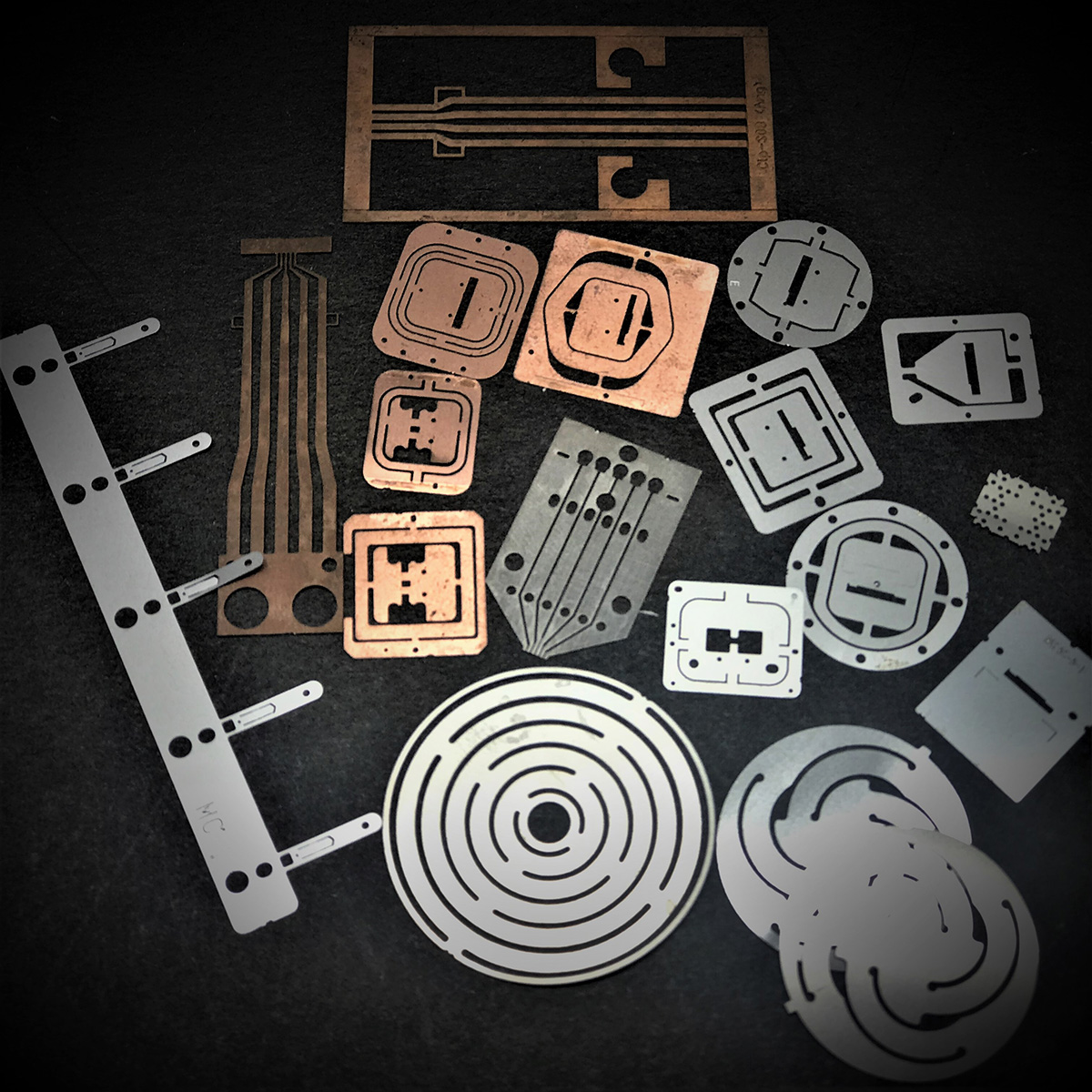 Etching Electronic Component