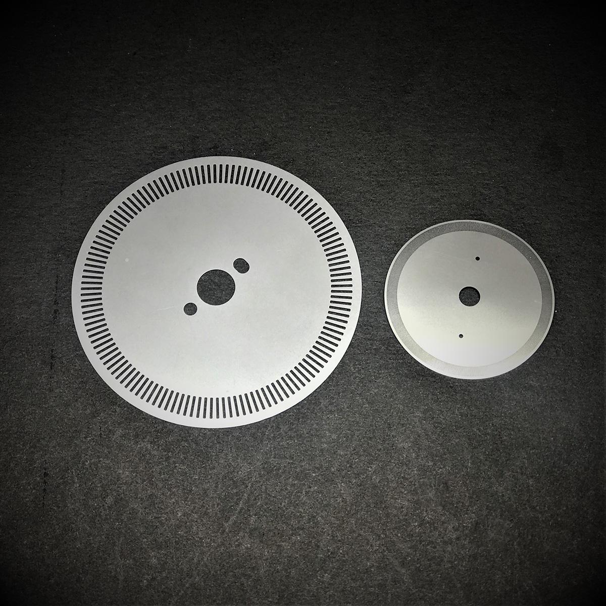 Etching Encoder Disc